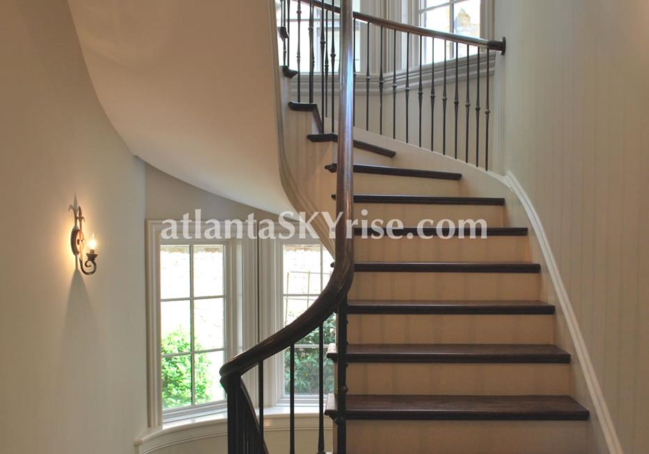 The Bellingrath Buckhead Atlanta Townhome Stairway