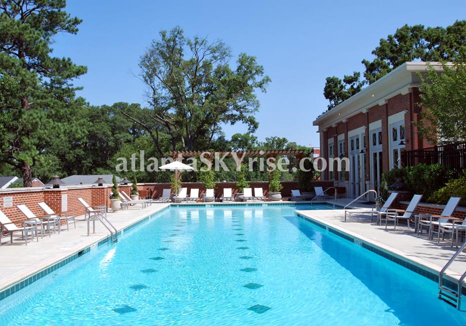 The Brookwood Midtown Atlanta Condo Swimming Pool