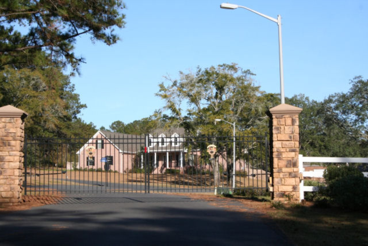 Walden Place Tallahassee FL Neighborhood Gated Entrance